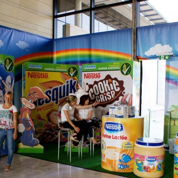 Advertising products & stands