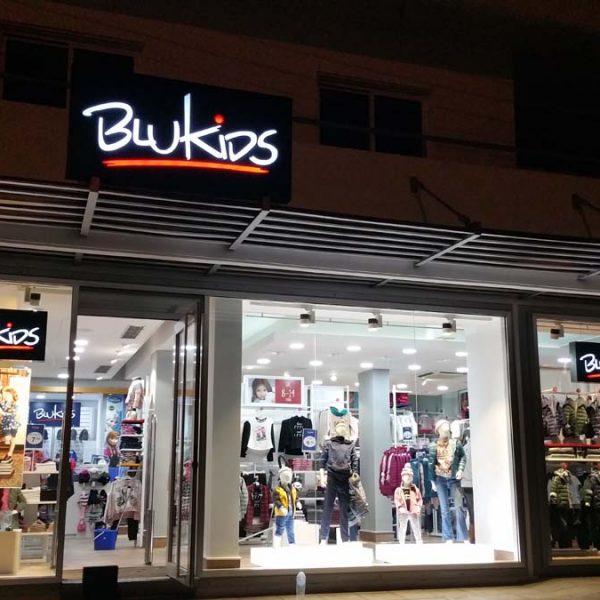 Illuminated store signs