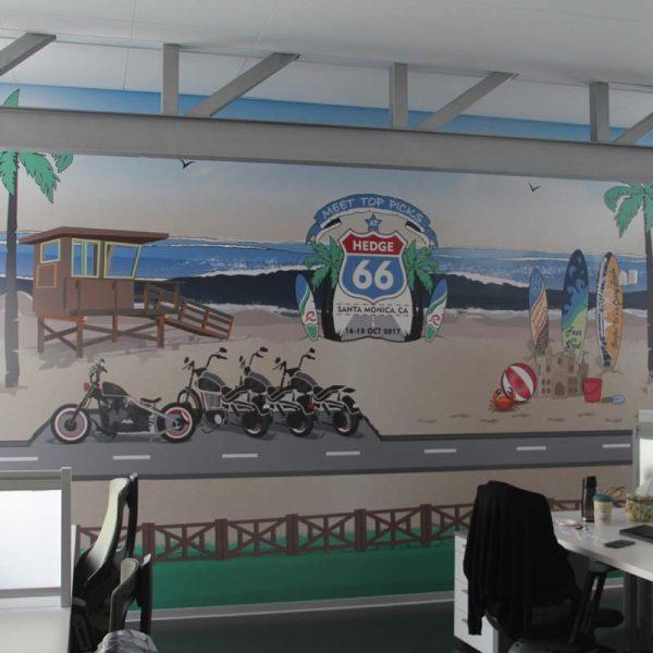 Wallpaper office decor
